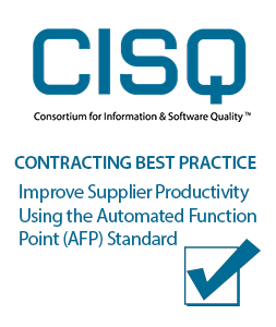 Contracting Best Practice - Improve Supplier Productivity Using the Automated Function Point (AFP) Standard